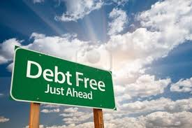 Debt free is the best way to be.