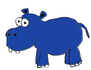 """""""Henry Hippo's Heartbeat"""", the first one of singer songwriter and children's writer, Tony Funderburk's ebooks for kids."""