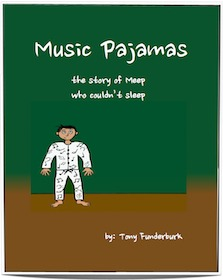 "The 4th one of singer songwriter and children's writer, Tony Funderburk's ebooks for kids, ""Music Pajamas"". It's one of his ""Bedtime Buckaroos"" bedtime stories."