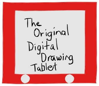 Writer-singer-illustrator, Tony Funderburk, shares a coloring video not produced on an Etch-a-Sketch