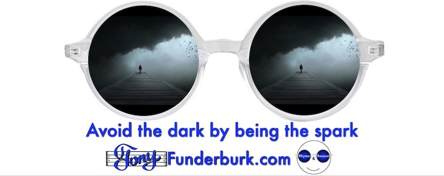 Avoid the dark by being the spark