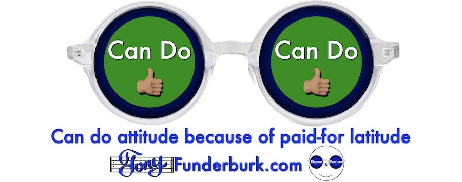 Can do attitude because of paid-for latitude