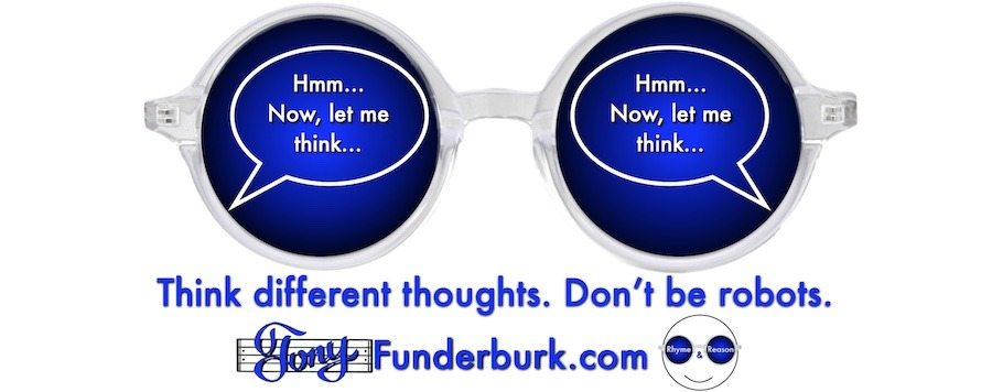 Think different thoughts. Don't be robots.