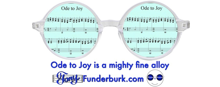 Ode to Joy is a mighty fine alloy