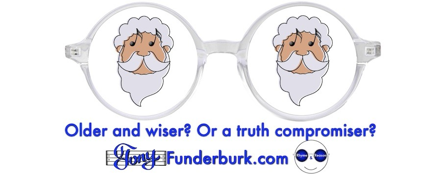 Older and wiser? Or a truth compromiser?