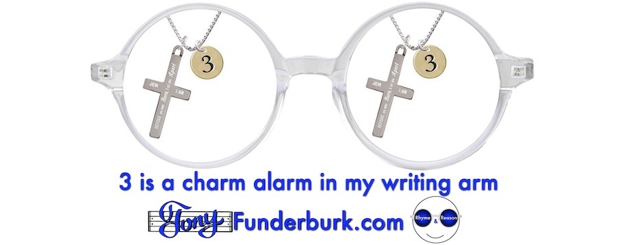 3 is a charm alarm in my writing arm