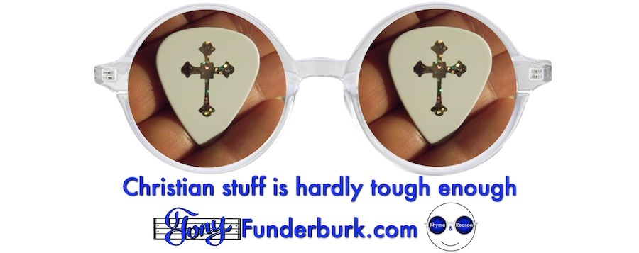 Christian stuff is hardly tough enough