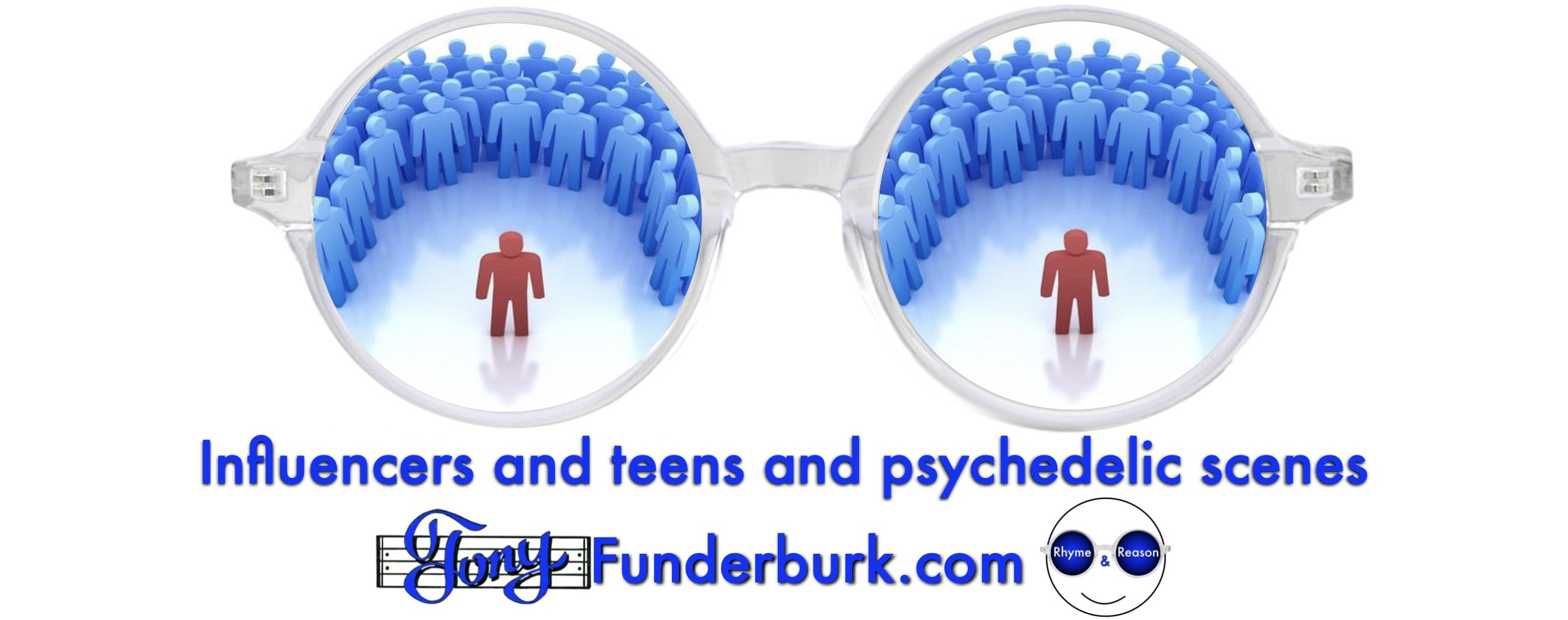 Influencers and teens and psychedelic scenes
