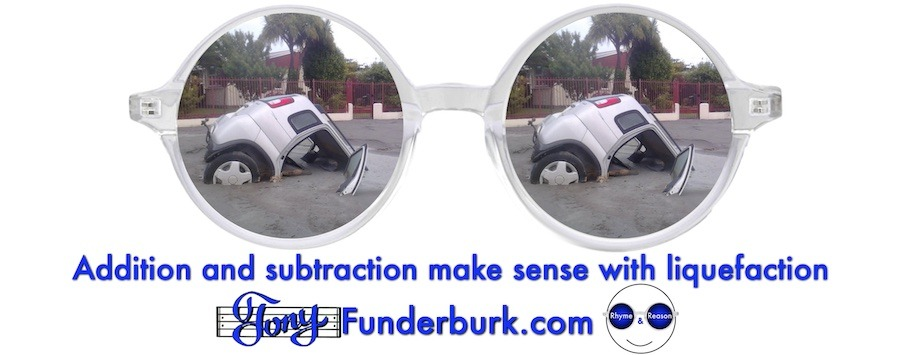 Addition and subtraction make sense with liquefaction