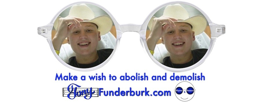 Make a wish to abolish and demolish
