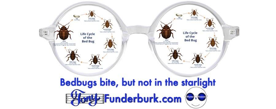 Bedbugs bite, but not in the starlight