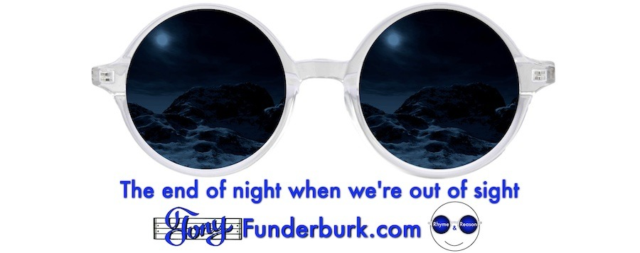 The end of night when we're out of sight