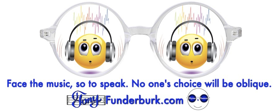 Face the music, so to speak. No one's choice will be oblique.
