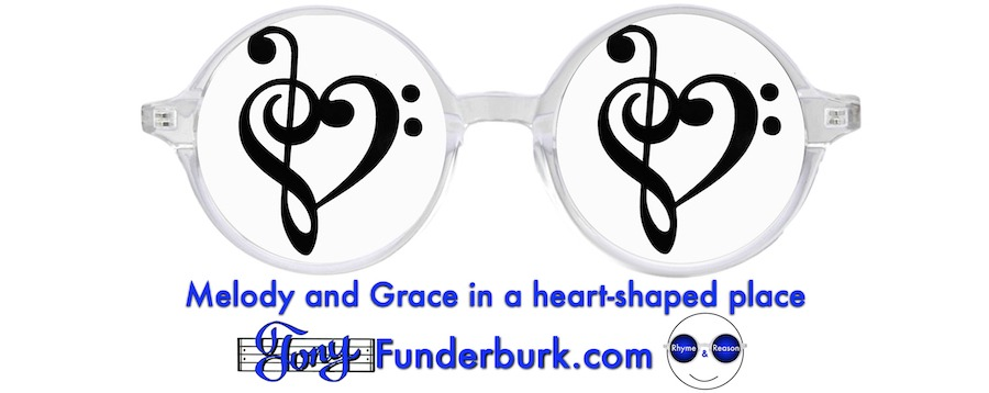 Melody and Grace in a heart-shaped place