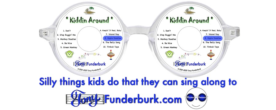 Silly things kids do that they can sing along to