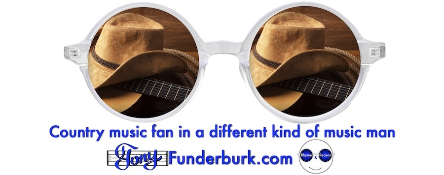 Country music fan in a different kind of music man