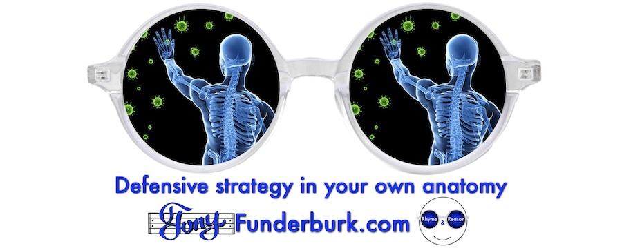 Defensive strategy in your own anatomy