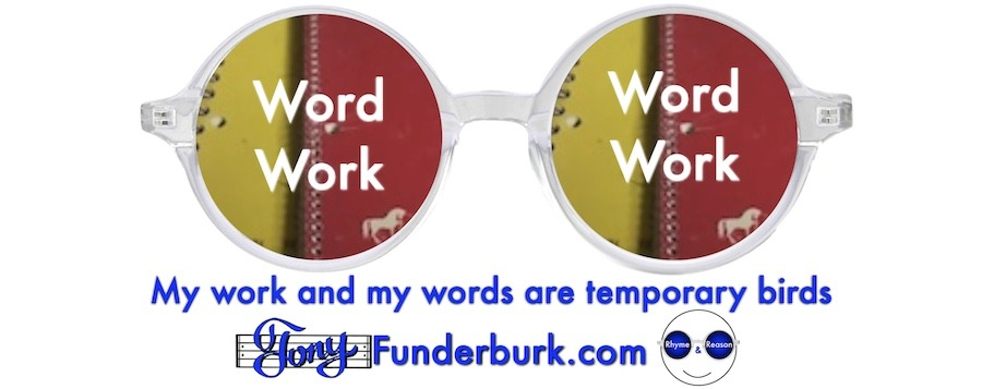 My work and my words are temporary birds