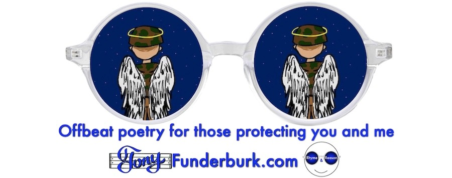 Offbeat poetry for those protecting you and me