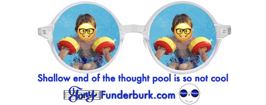 Shallow end of the thought pool is not so cool