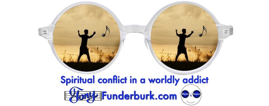 Spiritual conflict in a worldly addict