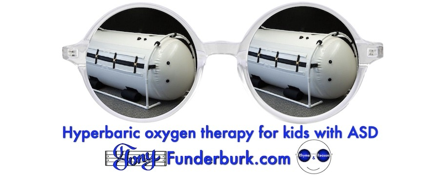 Hyperbaric oxygen therapy for kids with ASD