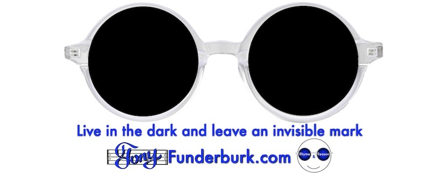 Live in the dark and leave an invisible mark