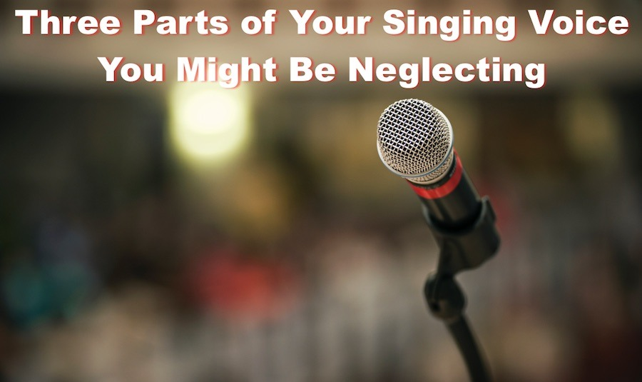 Three parts of your singing voice you might be neglecting