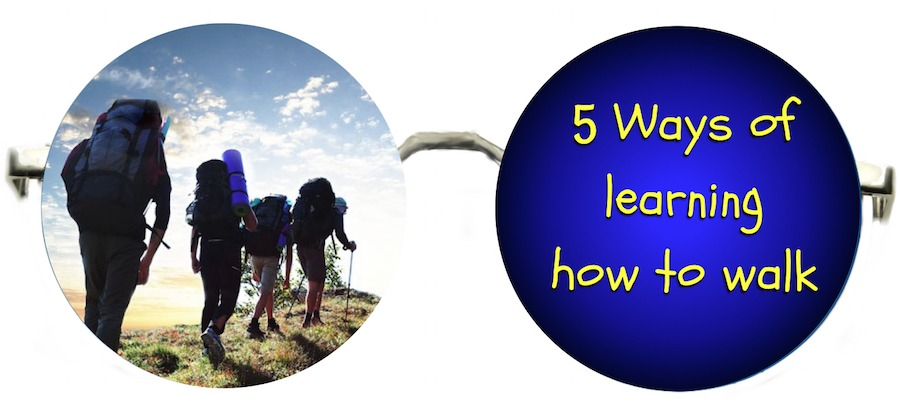 5 Ways of Learning How To Walk