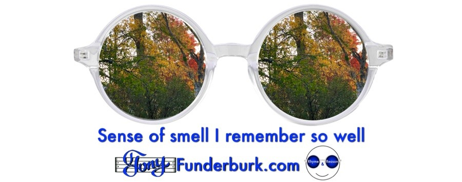 Sense of smell helps you remember so well.