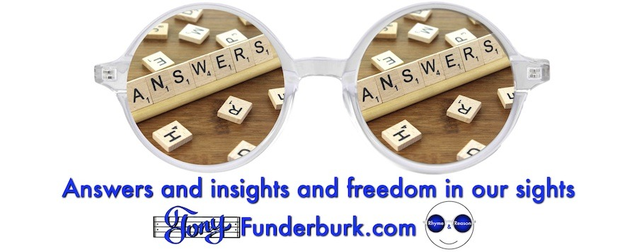 Answers and insights and freedom in our sights