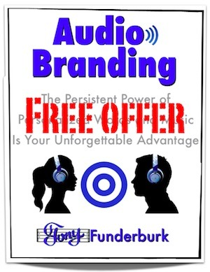 Get the new book, Audio Branding, by Tony Funderburk. Free to any Rhyme and Reason Bandwagon member