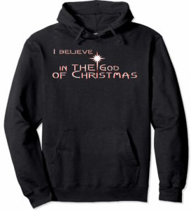 Get your very own Black God of Christmas Hoodie and I'll send you the matching song.