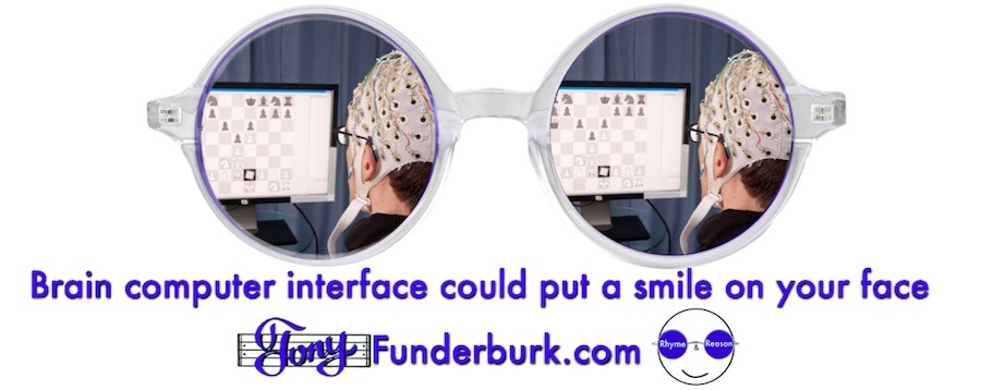 Brain computer interface could put a smile on your face