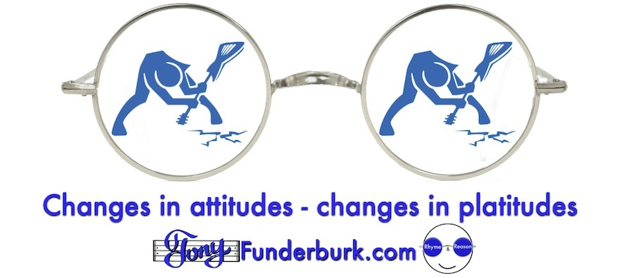 Changes in attitudes - changes in platitudes