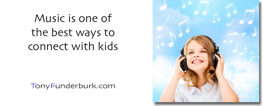 Connect With Kids - music is one of the best ways
