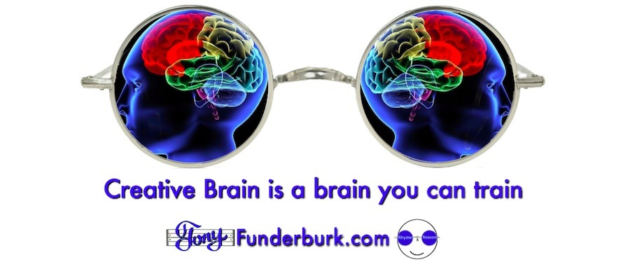 Creative brain is a brain you can train