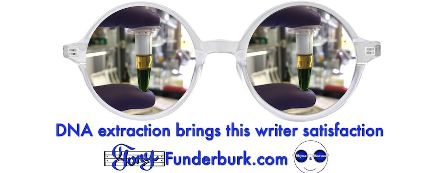 DNA extraction brings this writer satisfaction