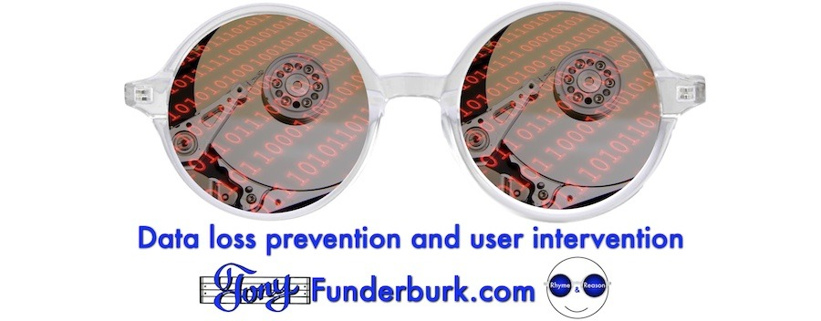 Data loss prevention and user intervention