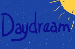 In Tony Funderburk's writing for kids, he recommends a daydream in blue.