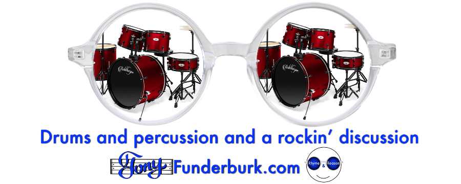 Drums and percussion and a rockin' discussion