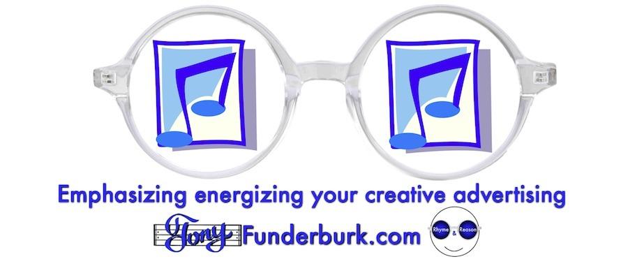 Emphasizing energizing creative advertising