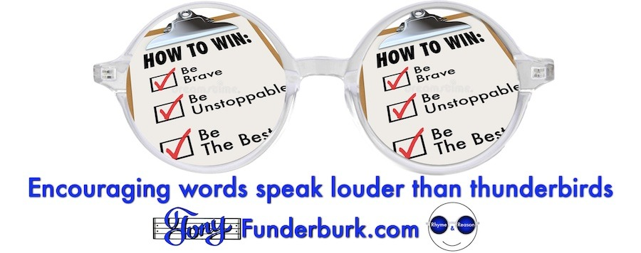 Encouraging words speak louder than thunderbirds