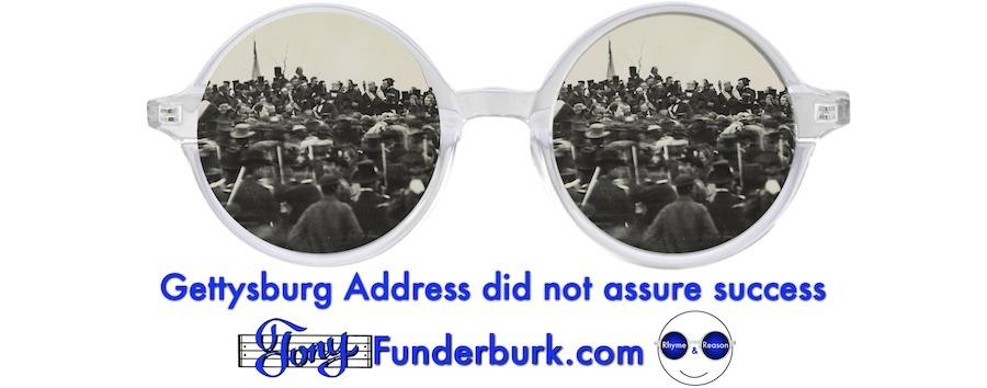 Gettysburg Address did not assure success