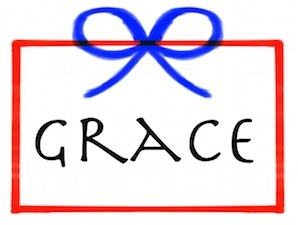 Amazing Grace is the awesome gift of God.