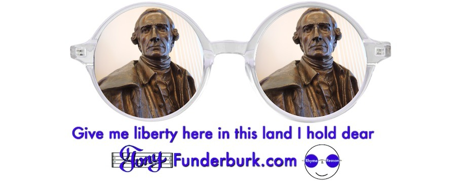 Give me liberty here in this land I hold dear