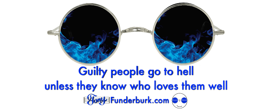 Guilty people go to hell