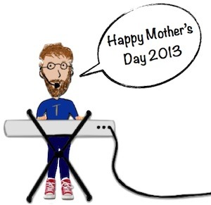 Taking a day off from writing for kids in order to write for mom's...Happy Mother's Day 2013