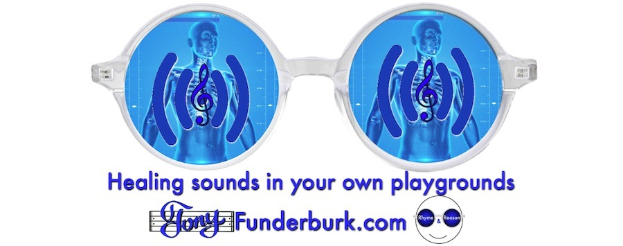 Healing sounds in your own playgrounds
