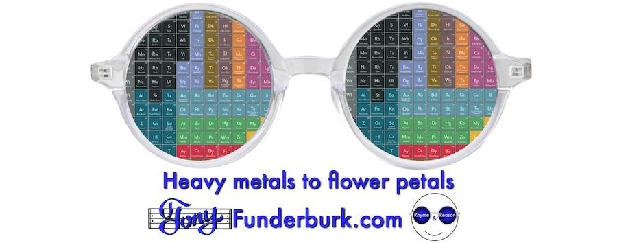Heavy metals to flower petals